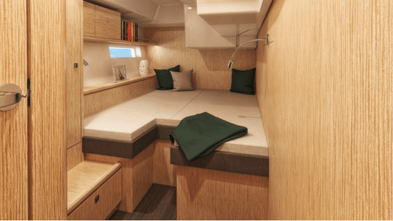 Bavaria C57 - Interior view of the Guest Cabins