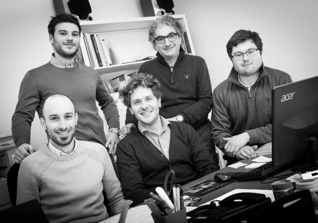 Foto di gruppo dello studio CYD Cossutti Yacht Design