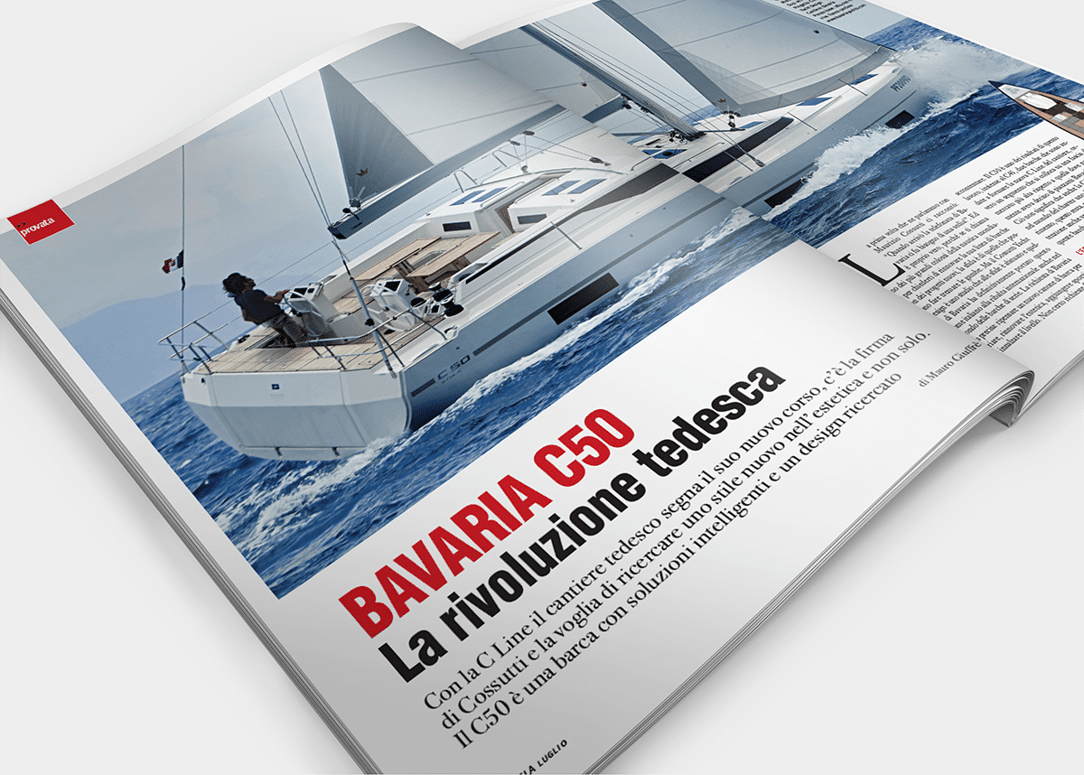 Bavaria C50 by cossutti yacht desogn Giornale della Vela review